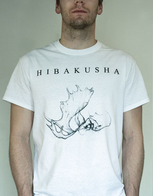 hibakusha t-shirt incarnation artwork white