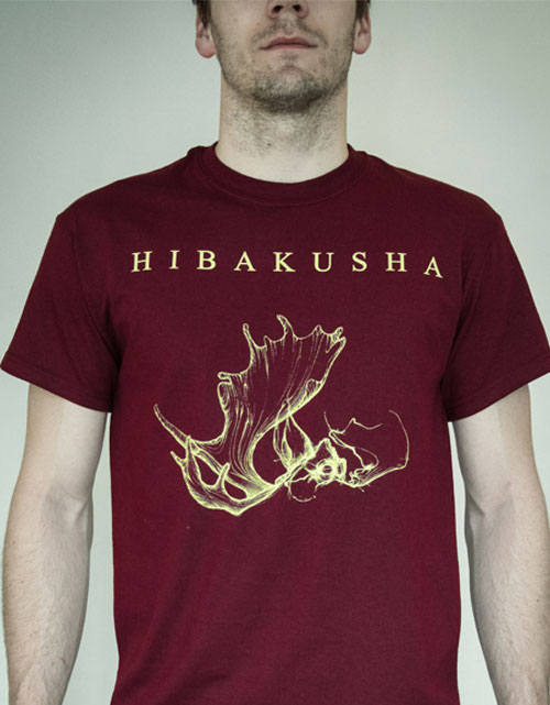 hibakusha t-shirt incarnation artwork red